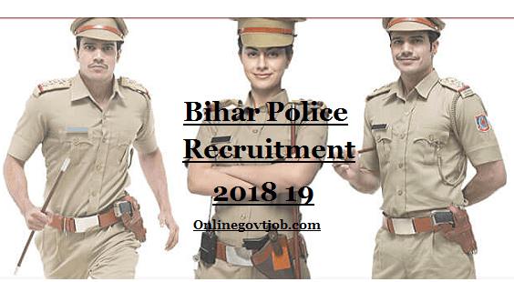 Bihar police recruitment 2018 19