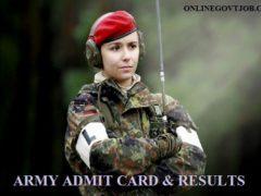 Ludhiana Army Bharti Admit Card