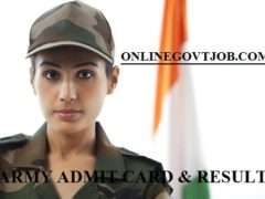 Berhampore Army Bharti Admit Card