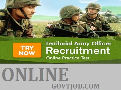 TA Army Bharti 2019-20 | Territorial Army Officer Bharti Male & Female